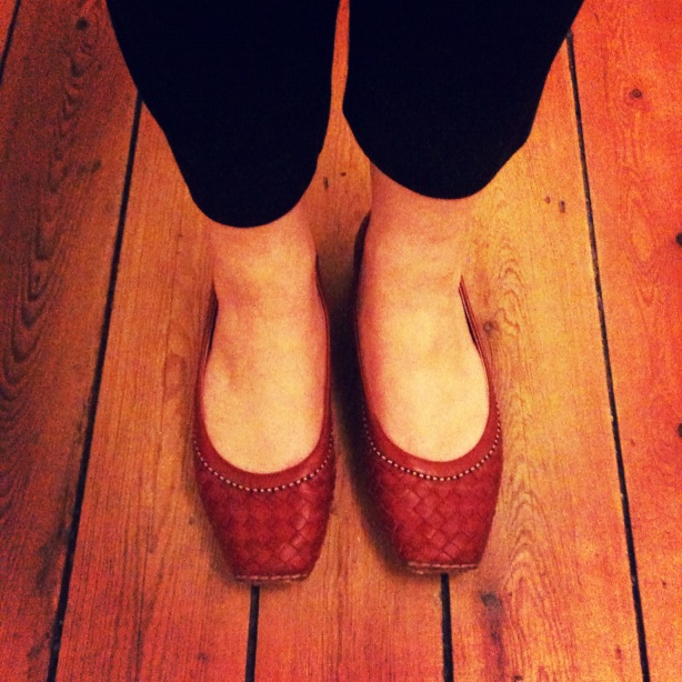 Favourite red shoes.