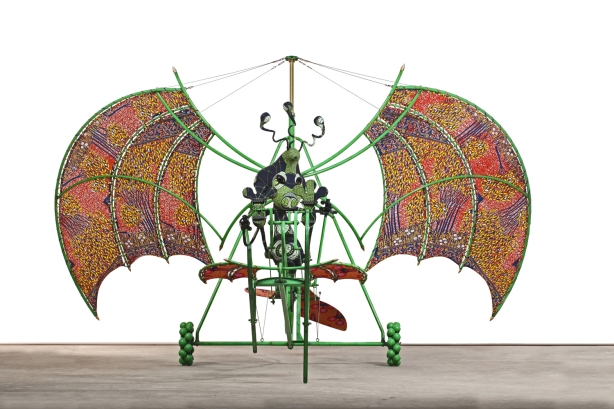 Alien Man on Flying Machine (2011) Copyright: Yorkshire Sculpture Park