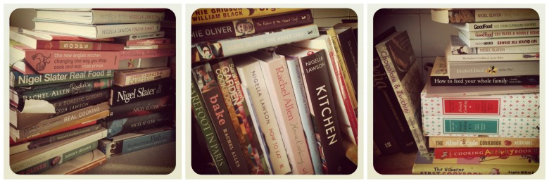 Too many cookbooks ...