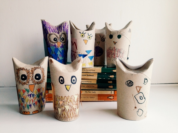 A Parliament of Loo Roll Owls!