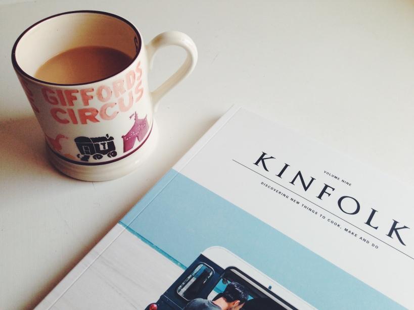 Kinfolk magazine, Emma Bridgewater mug
