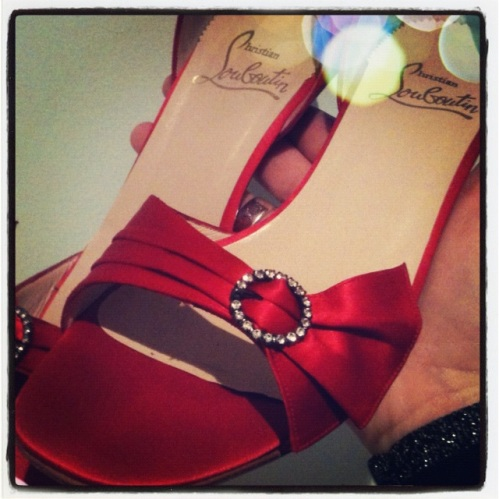 These Louboutins are in storage for my girl!