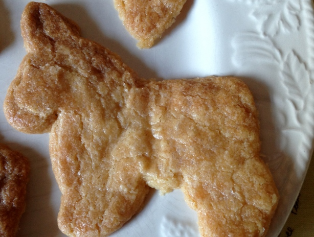 Donkey shaped biscuit