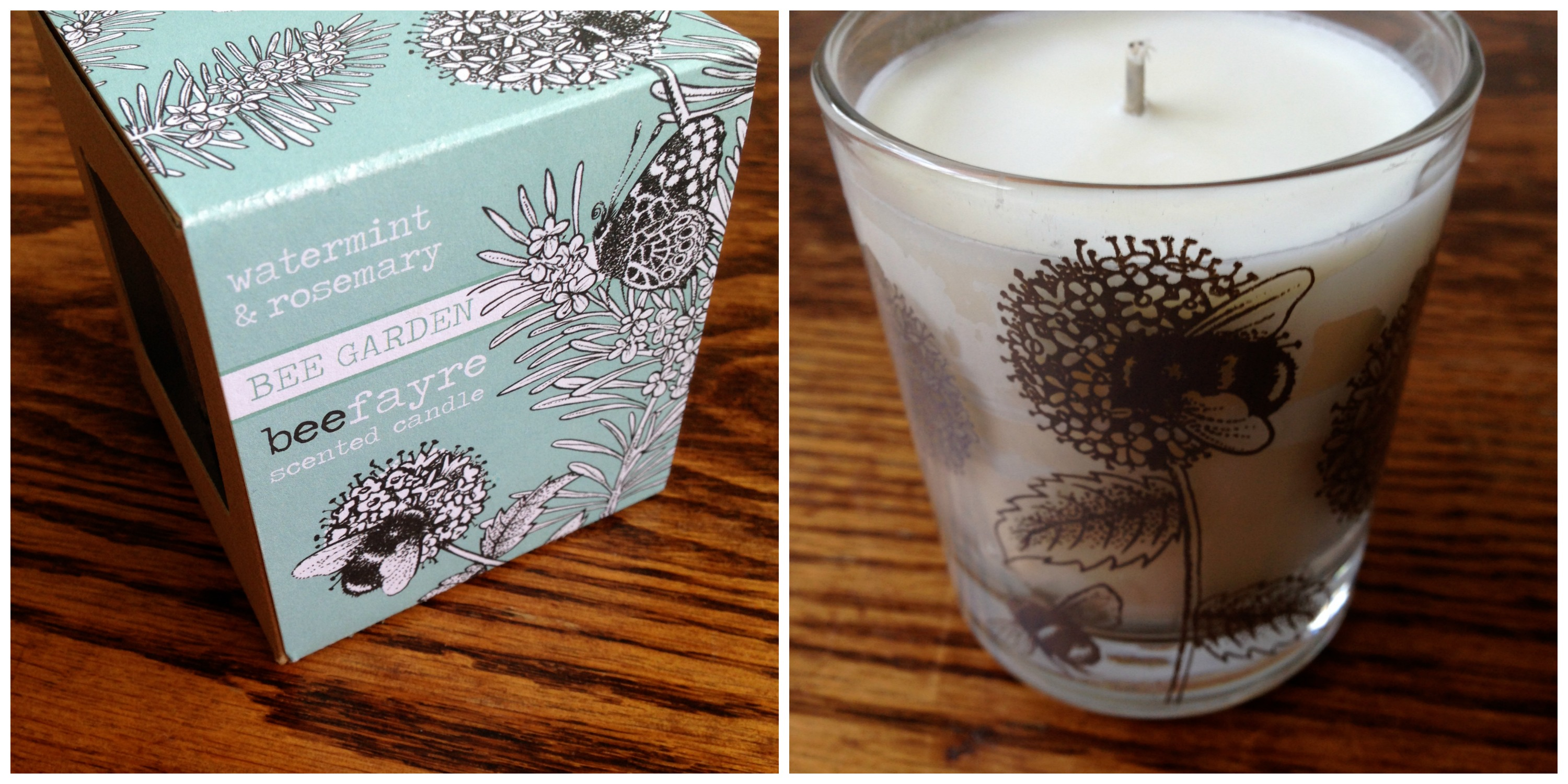 Bee Fayre candle