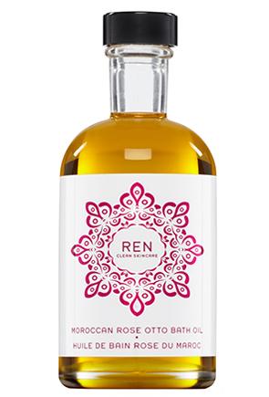 REN Rose Otto Bath Oil (image from REN)