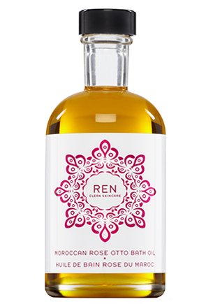 REN Rose Otto Bath Oil (image from REN)