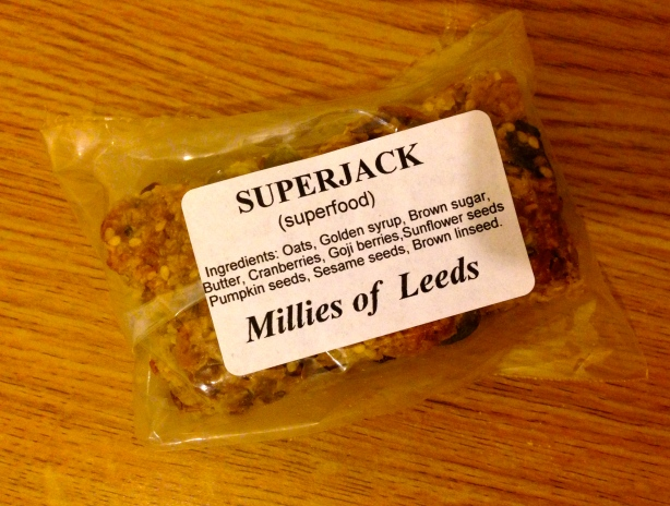 Flapjack from Millie's Organic