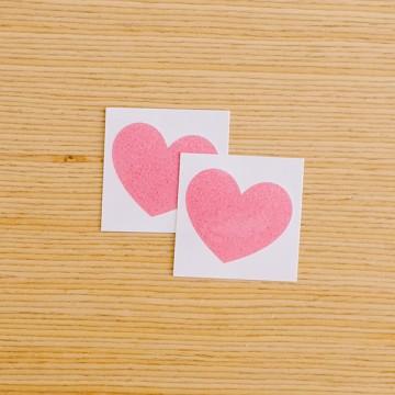 Tattly sparkly heart tattoo